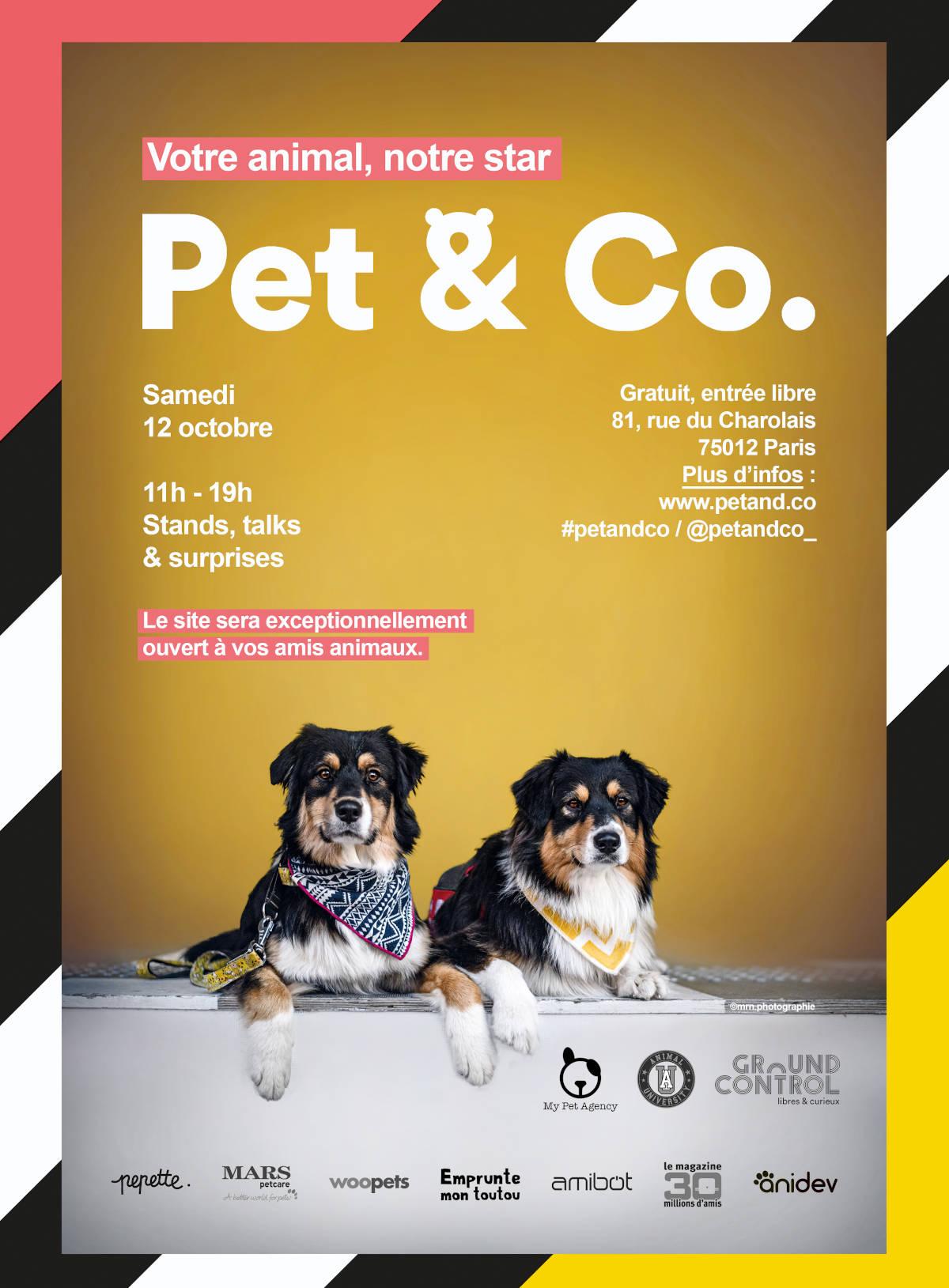 Pet & Co 2019 - Evènement Animal University - Vivre et travailler dans le respect de l'animal