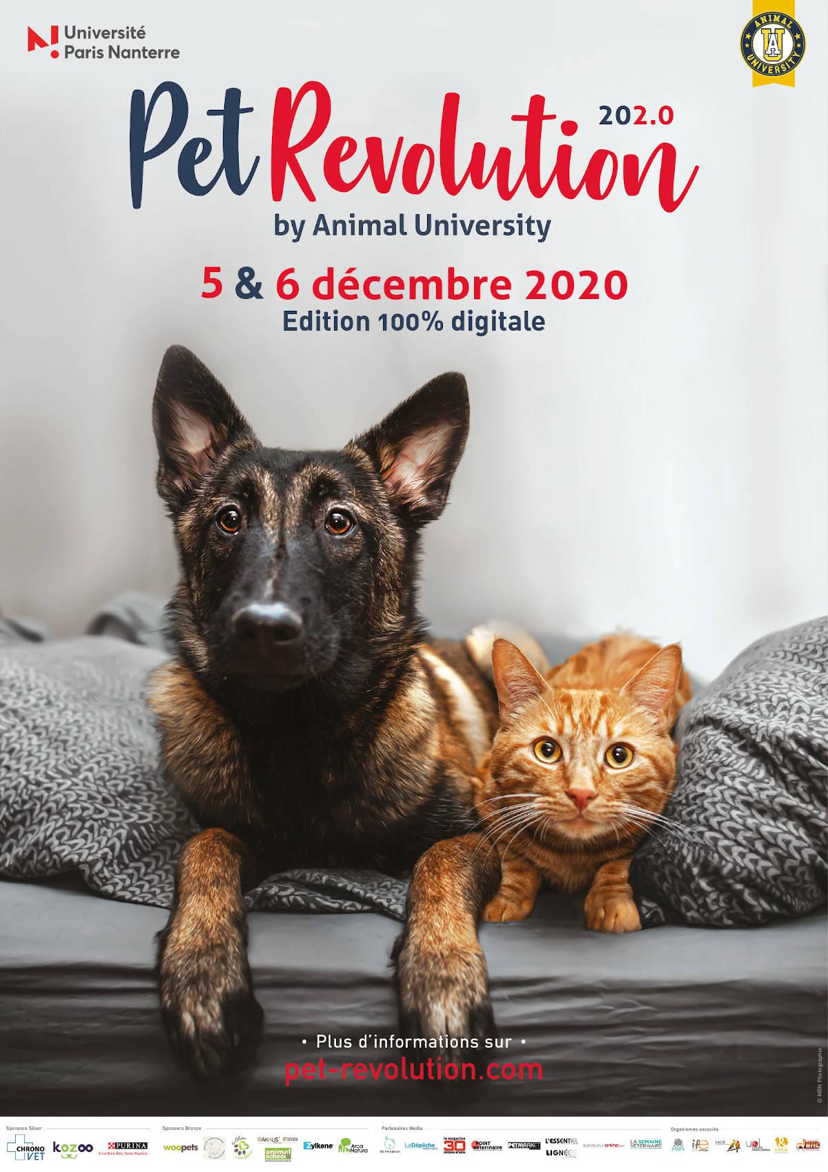 Pet Revolution 2020 - Evènement Animal University - Vivre et travailler dans le respect de l'animal