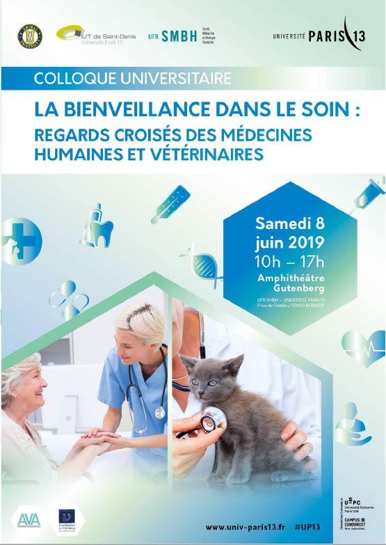 La bienveillance dans le soin 2019 - Evènement Animal University - Vivre et travailler dans le respect de l'animal