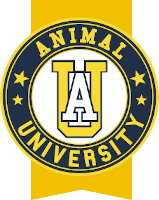 Logo Animal University - Vivre et travailler dans le respect de l'animal